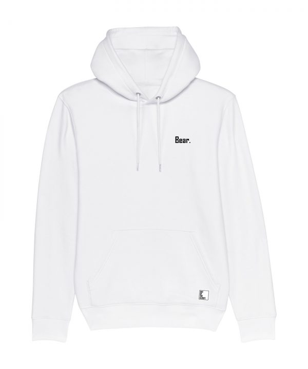 Out Of The Closet - Bear - Hoodie - White - Pride & Gay Clothing