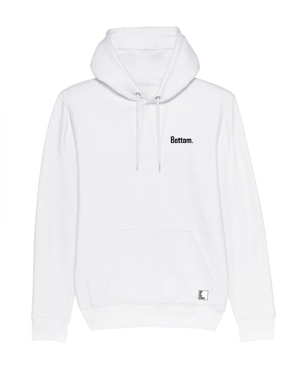 Out Of The Closet - Bottom - Hoodie - White - Pride & Gay Clothing