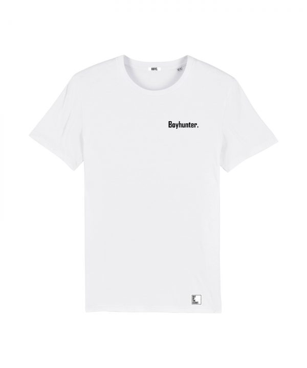 Out Of The Closet - Boyhunter - T-Shirt - White - Pride & Gay Clothing