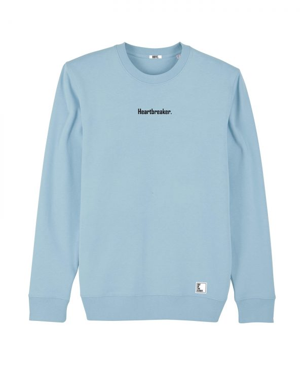 Out Of The Closet - Heartbreaker - Sweatshirt - Sky Blue - Pride & Gay Clothing