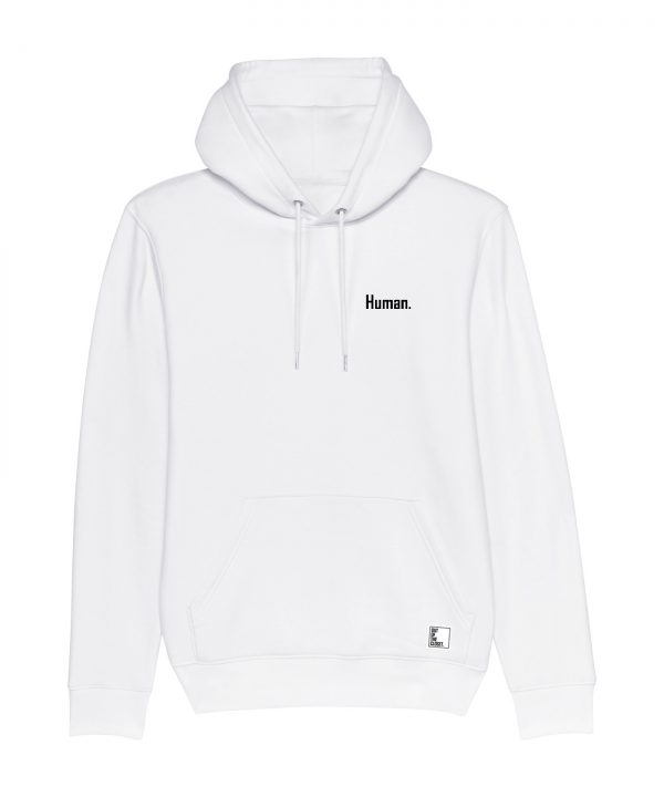 Out Of The Closet - Human - Hoodie - White - Pride & Gay Clothing
