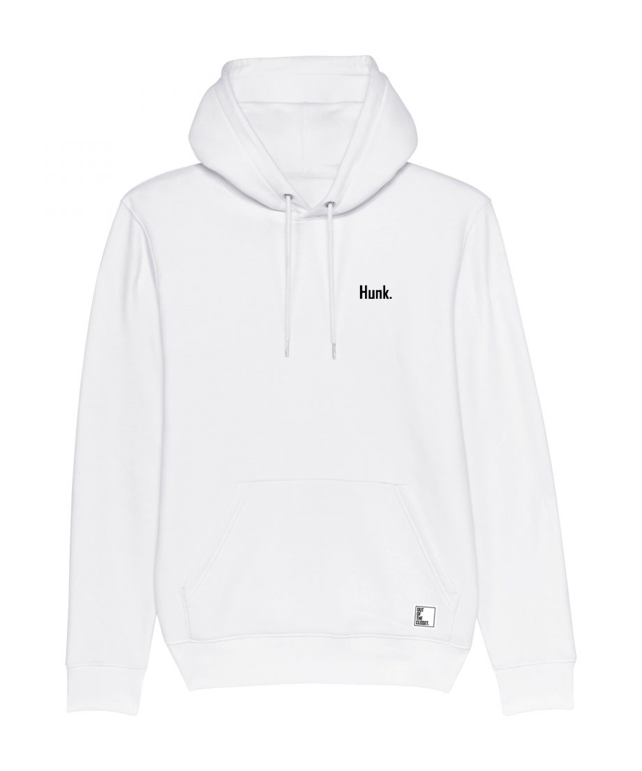 Out Of The Closet - Hunk - Hoodie - White - Pride & Gay Clothing