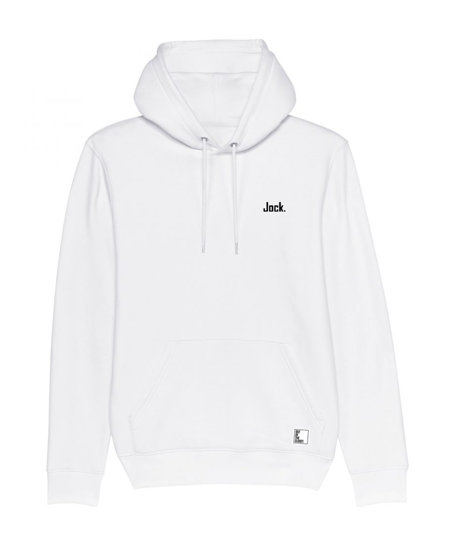 Out Of The Closet - Jock - Hoodie - White - Pride & Gay Clothing