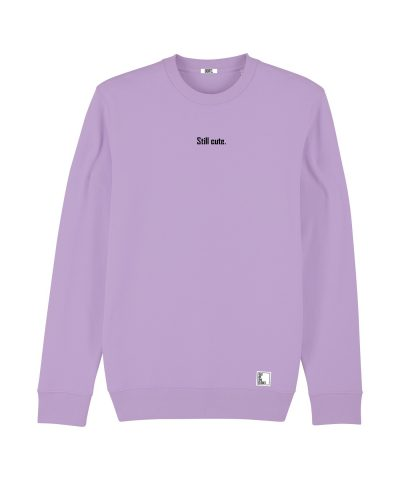 Out Of The Closet - Still Cute - Sweatshirt - Lavender Purple - Pride & Gay Clothing
